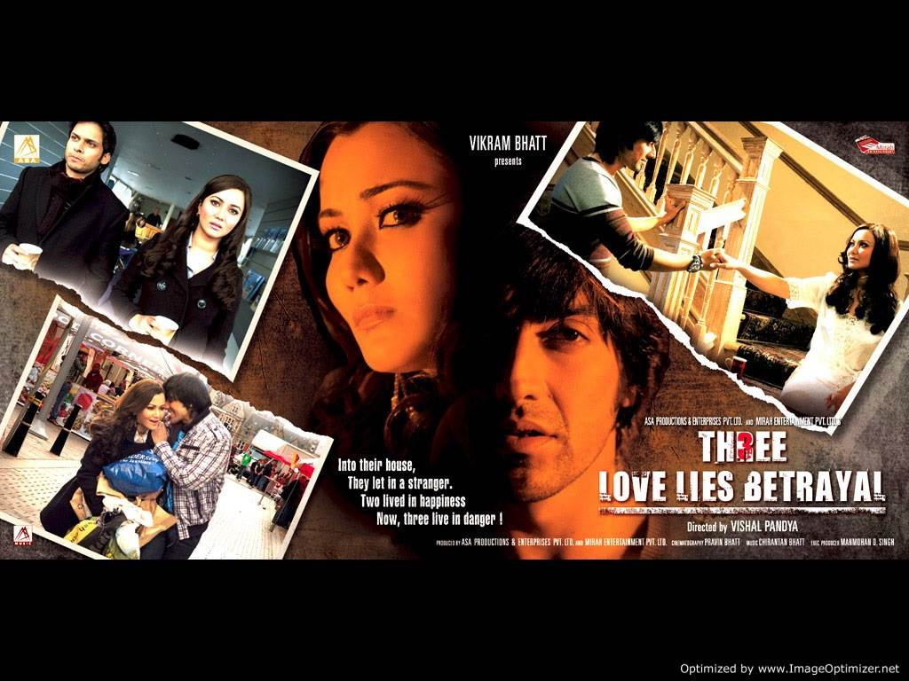 Three - Love, Lies and Betrayal Movie Review Hindi