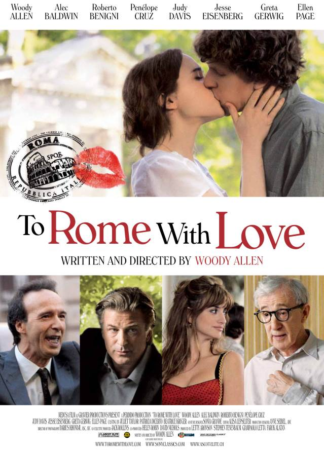 To Rome With Love Movie Review English