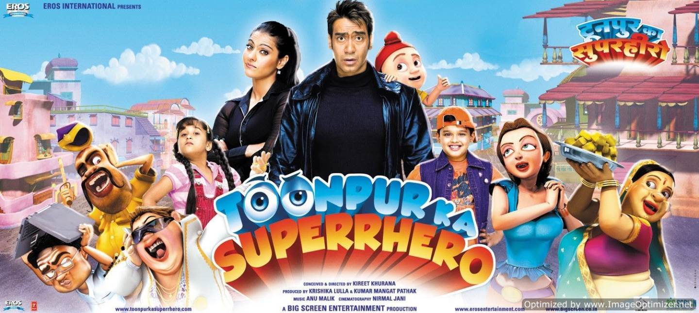 Toonpur Ka Super Hero Movie Review Hindi