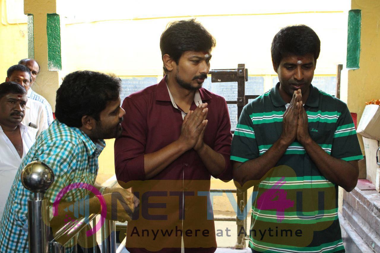 Udhayanidhi At Thenandal Films New Movie Launch Stills