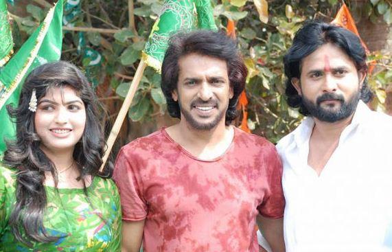 Upendra At Srinagara Kitty's Movie Launch!