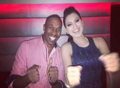 Urvashi Had A Party Time With Dwayne Bravo!