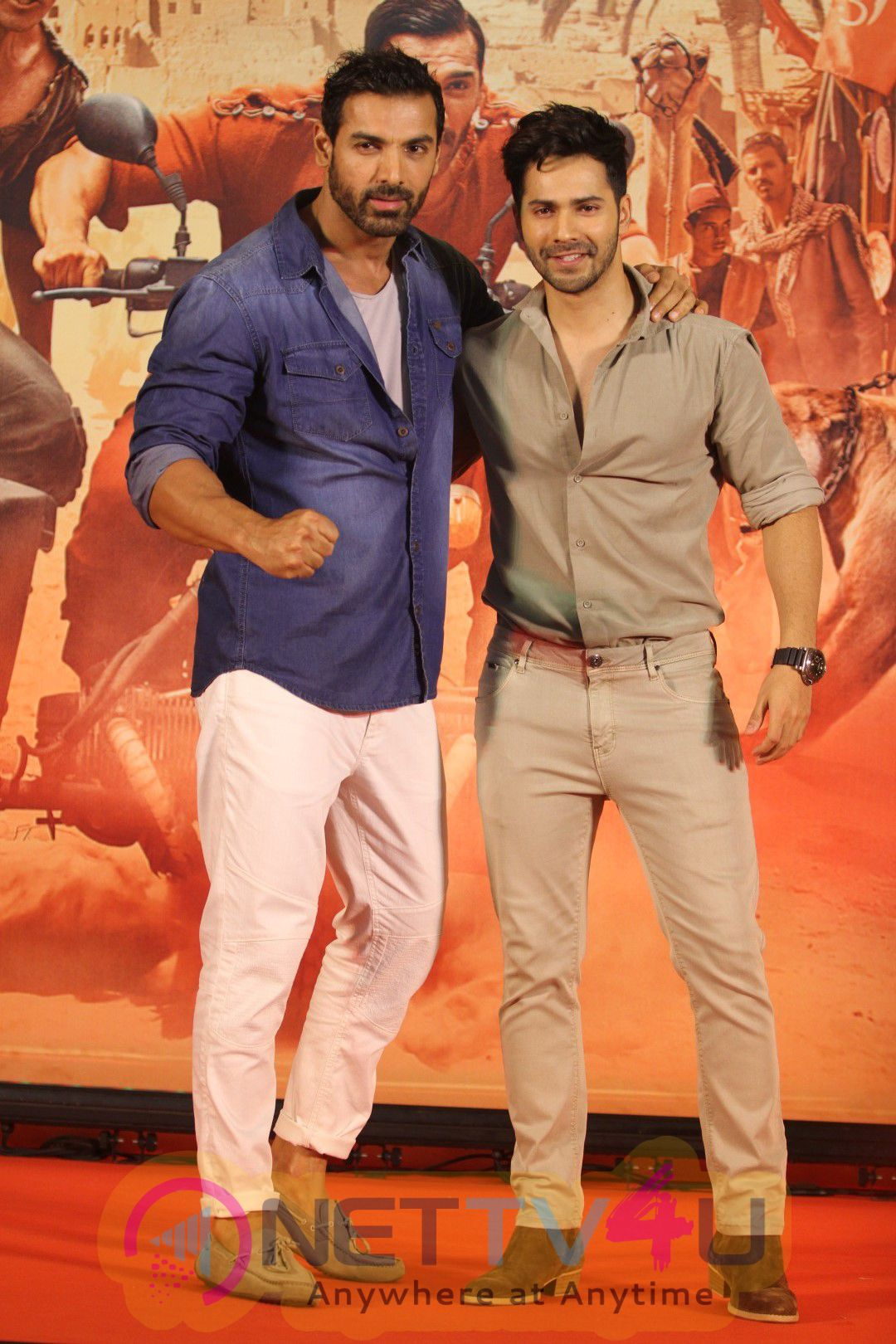 Varun Dhawan & John Abraham  At Dishoom Movie Success Press Meet Stills