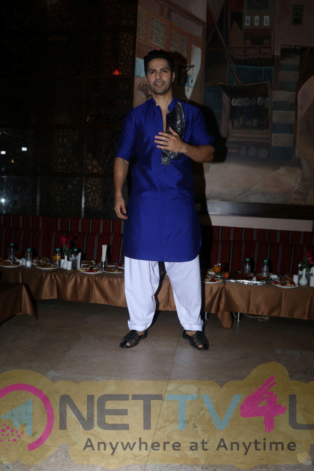 Varun Dhawan Visit Persian Darbar For Roza Iftar Party Photos