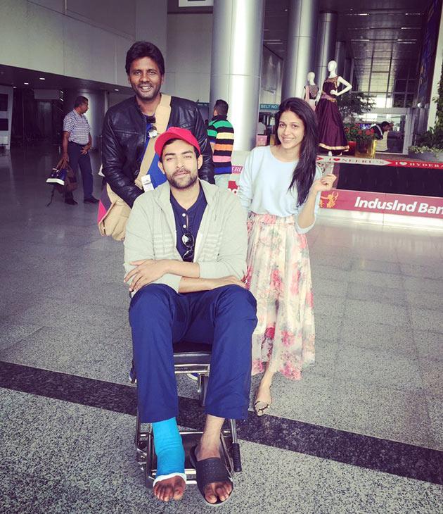 Varun Tej Fractured His Leg!