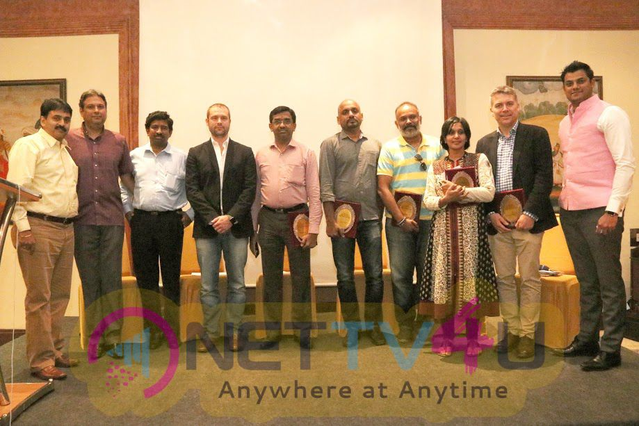 Venkat Prabhu & Others At Anti-Piracy Seminar Conducted By Friend MTS