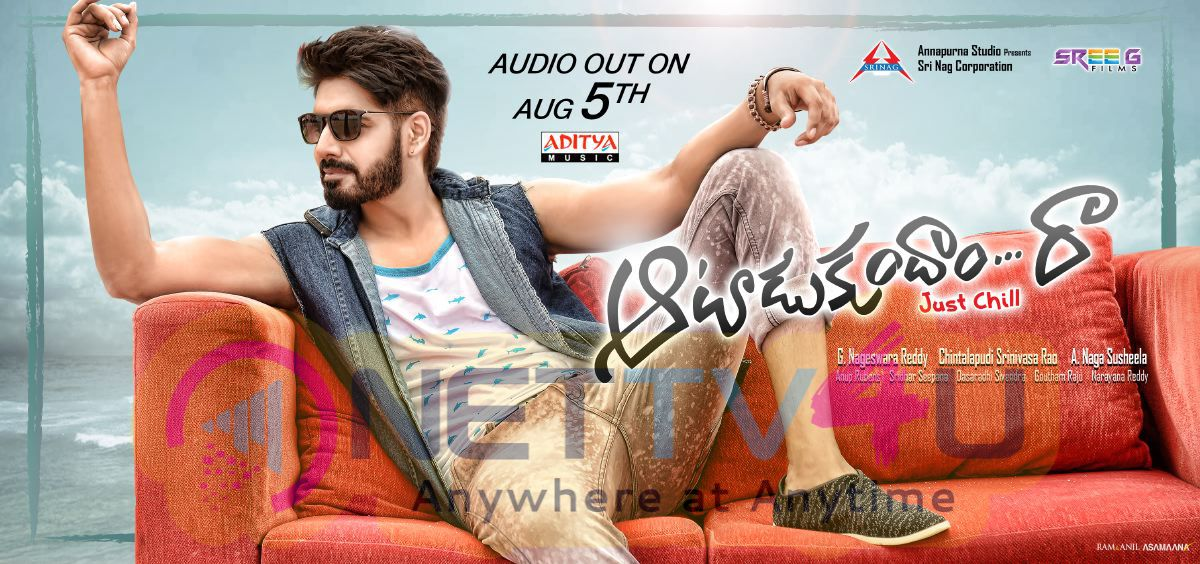 View Larger Image Aatadukundam Raa Movie Audio Release Date Poster
