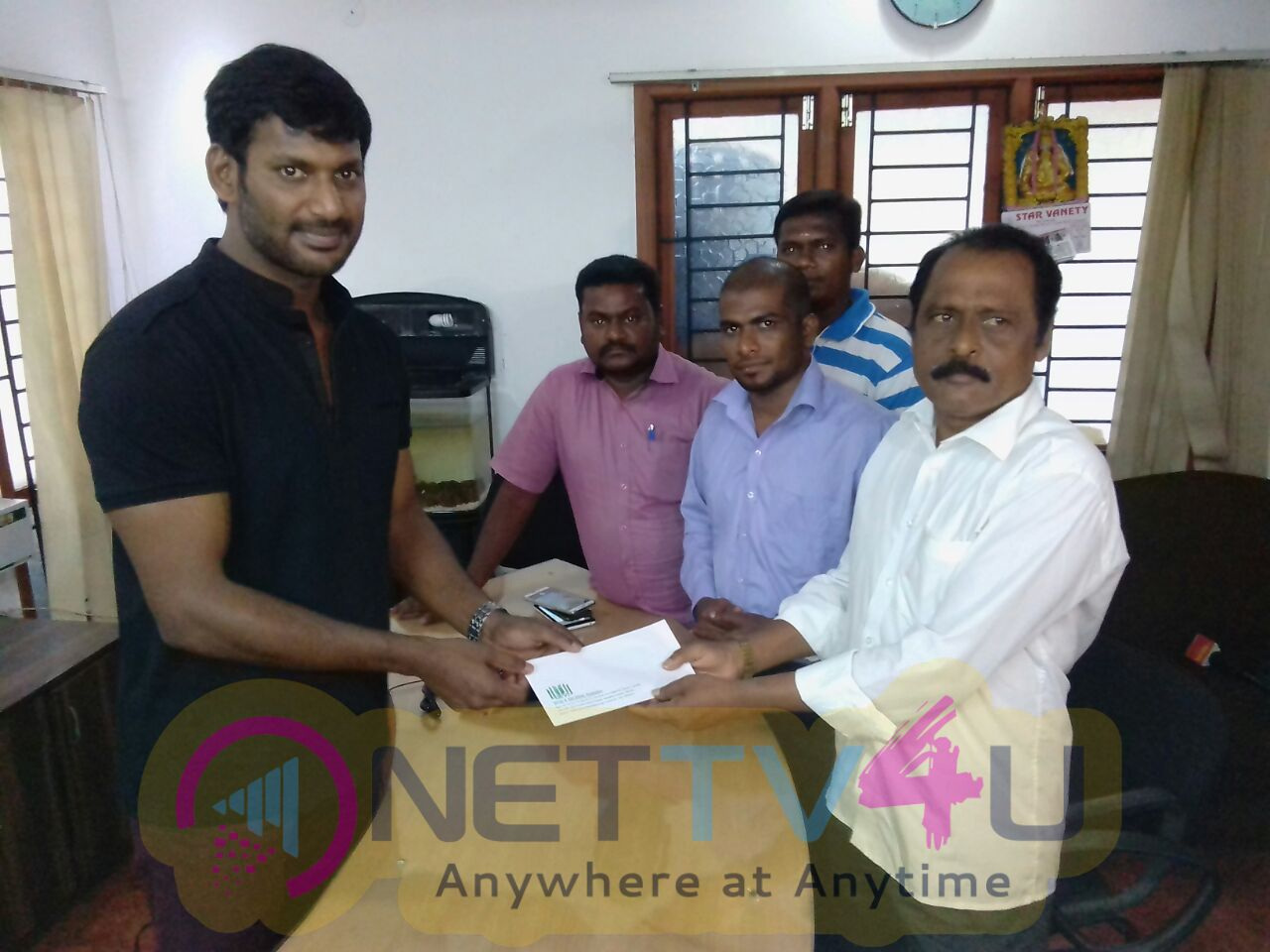 Vishal Helped For Heart Patient News And Pictures Attractive Stills