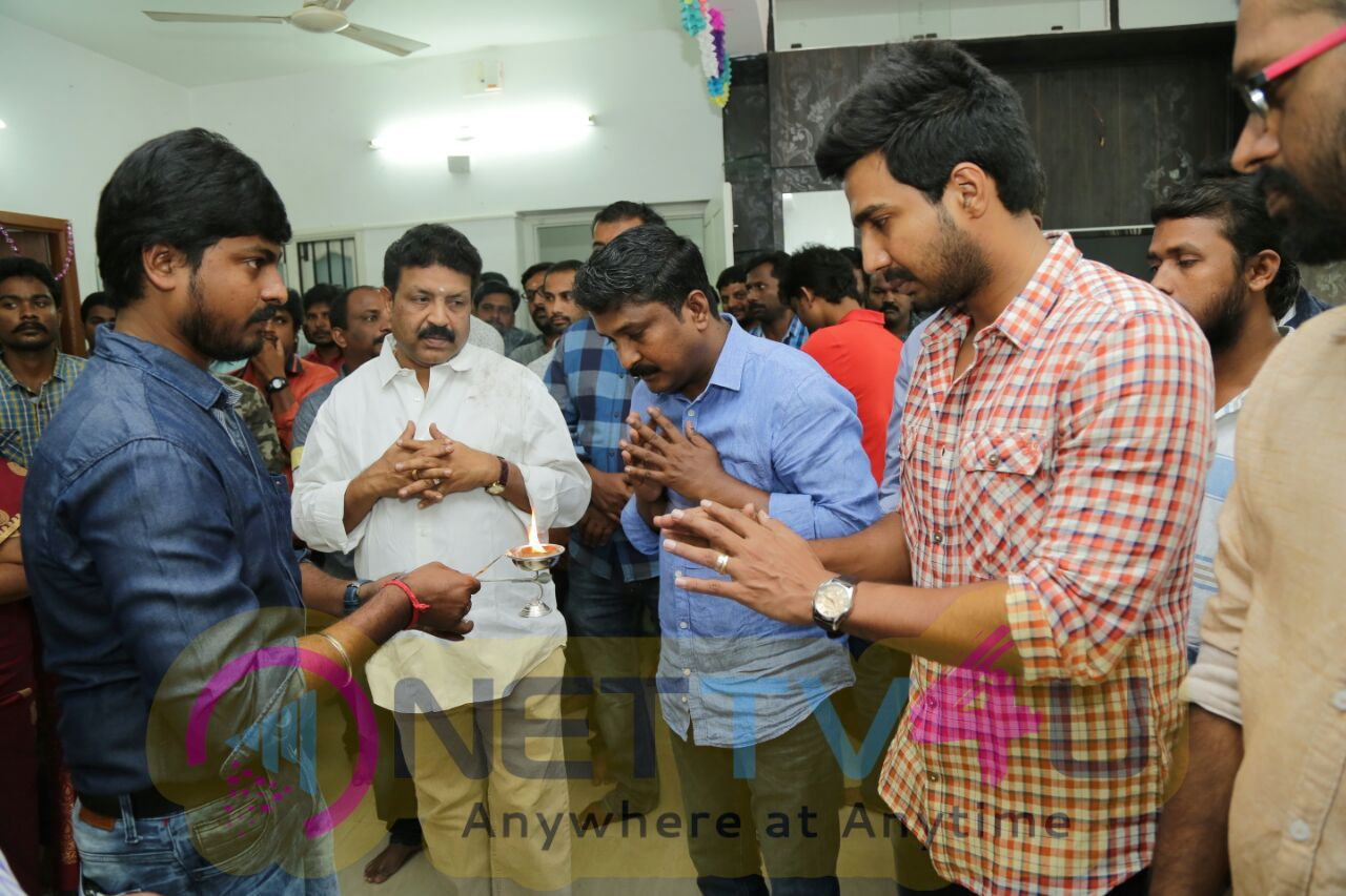 Vishnu Vishal Movie Axess Film Factory Production No 3 Pooja Stills