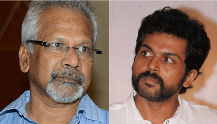 Vellai Pookal' For Mani Ratnam And Karthi?