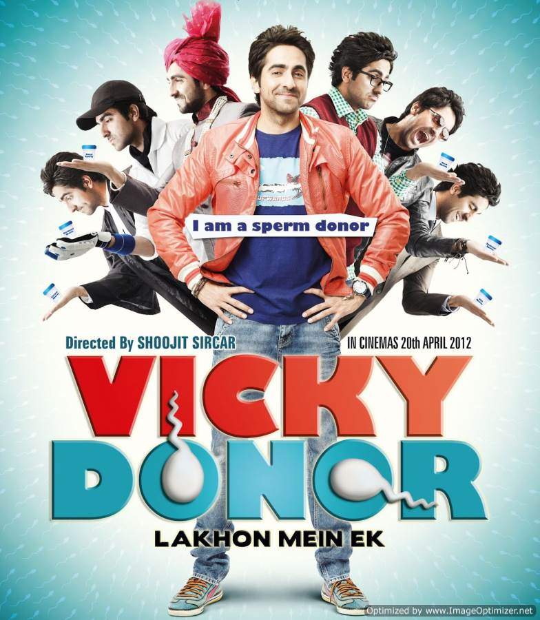 Vicky Donor Movie Review Hindi