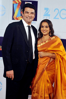 Siddharth Roy Kapur in a mess after Vidya's Sup..
