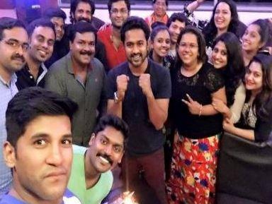Vijay Yesudas' Got Surprise On His Birthday!