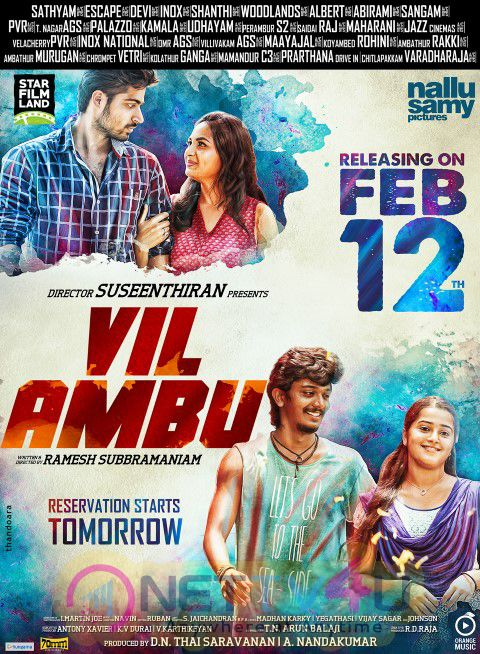 Vil Ambu Movie Releasing Date Poster's