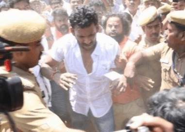 Vishal Injured When Helping Sangeetha Out Of Trouble!