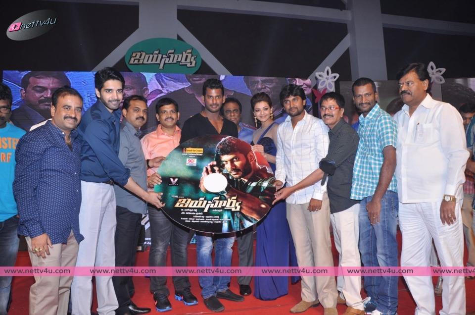 Vishal's Jaya Surya Movie Audio Launch Photos