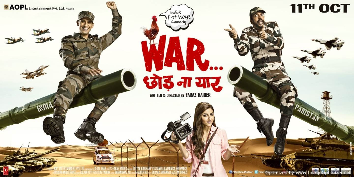 War Chhod Na Yaar- The war between songs and bullets ! Movie Review Hindi