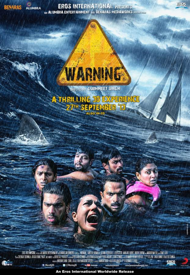 Warning- Don't go overboard – enough sharks there!  Movie Review Hindi
