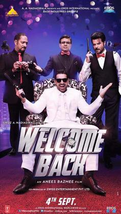 Welcome Back Movie Review Hindi