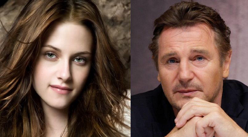 What!  Liam Neeson And Kristen Stewart Are Dati..