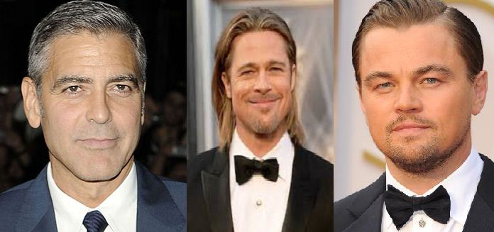 Why Do George Clooney, Brad Pitt And Leonardo D..