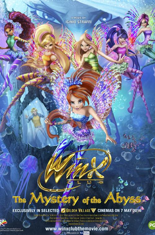 Winx Club: The Mystery Of The Abyss  Movie Review English Movie Review