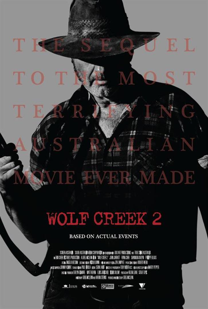 Wolf Creek 2 Movie Review English