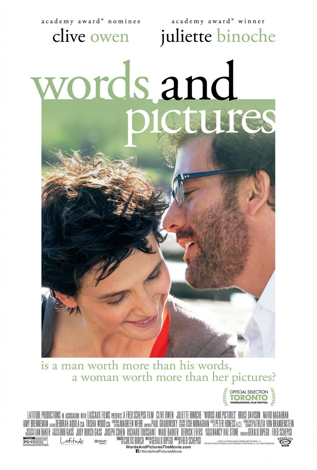Words and Pictures Movie Review English