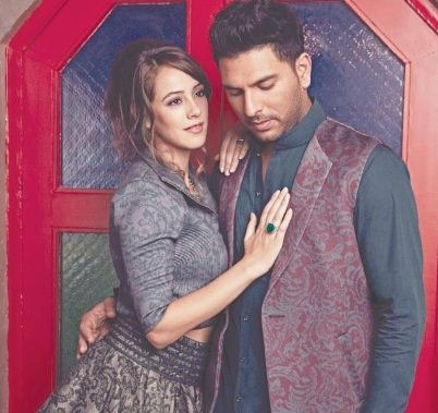 Yuvraj And Hazel Are Getting Ready For Their Me..