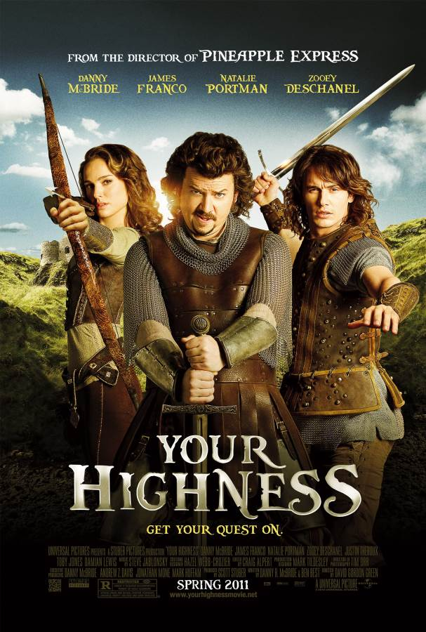 Your Highness Movie Review English