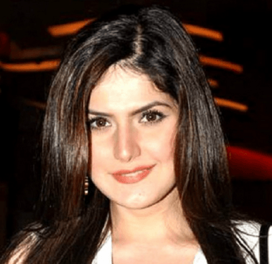 Zarine Khan is content with her profession