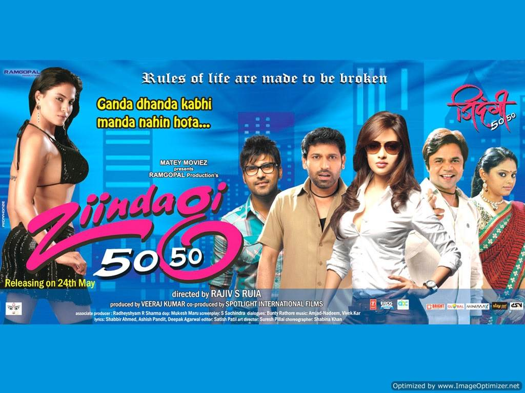 Zindagi 50 50– Mixing Sleaze and Piety in equal measure ! Movie Review Hindi
