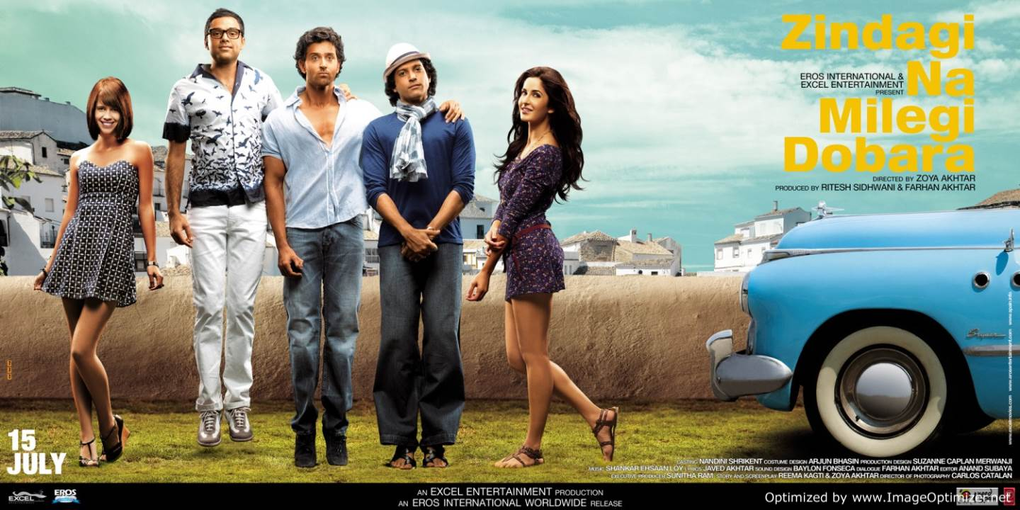 Zindagi Na Milegi Dobara Movie Review Hindi